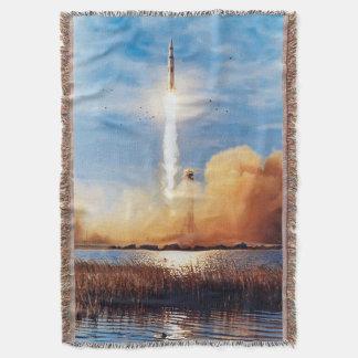 Couvertures Centre Spatial Kennedy de lancement de la NASA