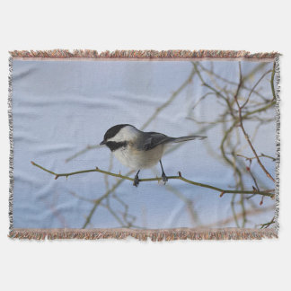 Couvertures Chickadee en hiver