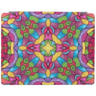 Couvertures de Smart d'iPad de kaléidoscope de Protection iPad