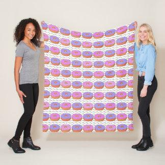 Couvertures d'ouatine de motif de beignet