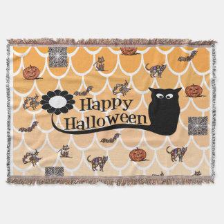 Couvertures Emoji heureux de Halloween