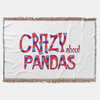 Couvertures Fou au sujet des pandas