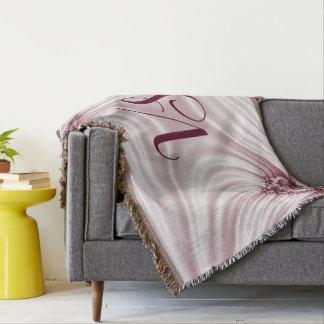 Couvertures Fractale assez rose. Imitation en soie. Ajoutez le
