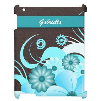 Couvertures intuitives d'iPad de caisse florale Coque iPad