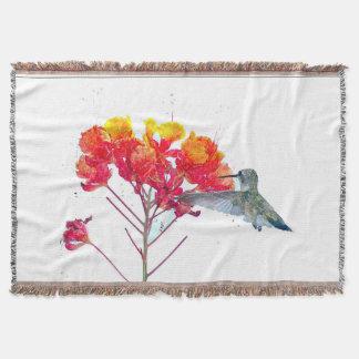 Couvertures La faune d'oiseaux de colibri fleurit les animaux