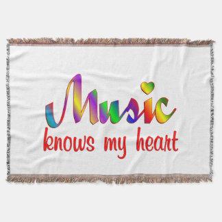 Couvertures La musique connaît mon coeur