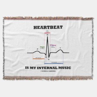Couvertures Le battement de coeur est mon rythme interne de