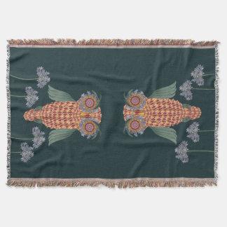 Couvertures Le hibou de la sagesse et des fleurs