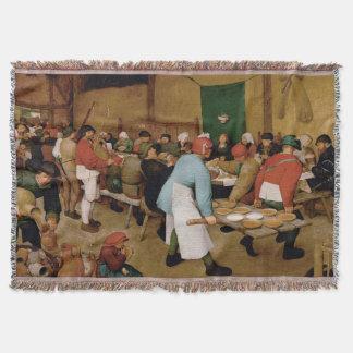 Couvertures Le mariage rural par Pieter Bruegel l'aîné