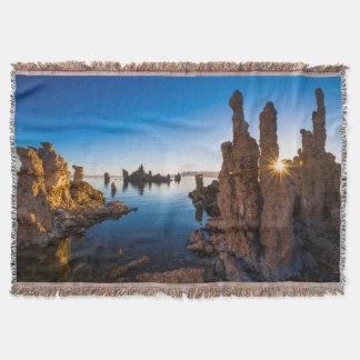 Couvertures Lever de soleil au lac mono, la Californie