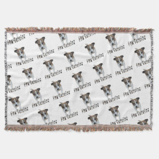 Couvertures Logo de Fox Terrier et de Fox Terrier, blanc