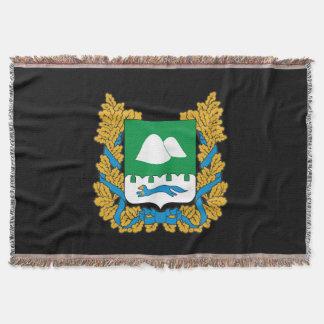 Couvertures Manteau des bras de l'oblast de Kurgan