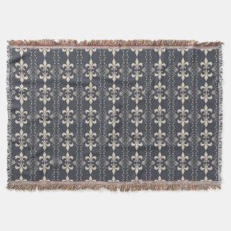 Couvertures Modèle royal de la marine fleur-De-lis
