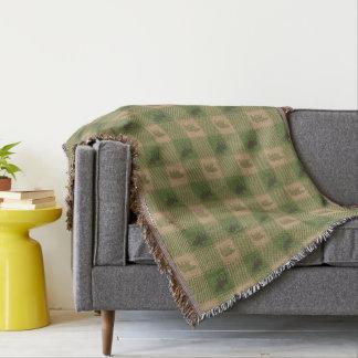 Couvertures Motif bronzage vert d'ours d'orignaux