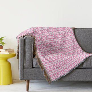 Couvertures Nounours rose