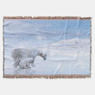 Couvertures Ours blanc et petit animal