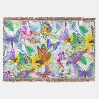 Couvertures Papillons et fleurs