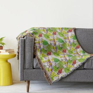 Couvertures Perroquets tropicaux