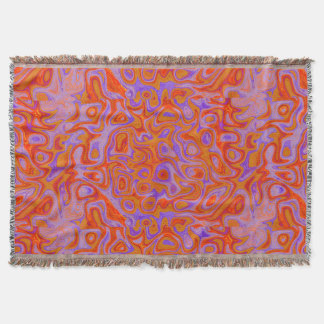 Couvertures Pierre pourpre orange lumineuse du feu