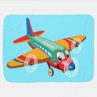 Couvertures Pour Bébé avion de bande dessinée