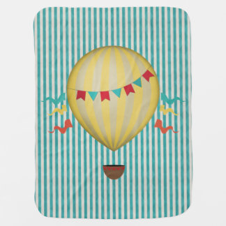 Couvertures Pour Bébé Ballon vintage d'air chaud