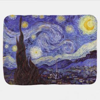 Couvertures Pour Bébé Beaux-arts de cru de nuit étoilée de Vincent van