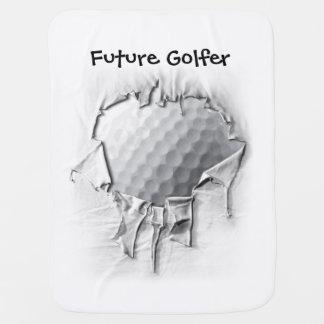 Couvertures Pour Bébé Boule de golf déchirée