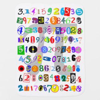 Couvertures Pour Bébé Coloré, amusement, et description mignonne de pi