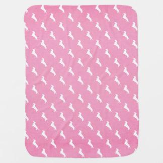 Couvertures Pour Bébé Copie rose de teckel