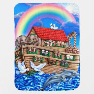 Couvertures Pour Bébé Couverture de l'arche de Noé