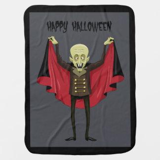 Couvertures Pour Bébé Couverture de poussette de Dracula Halloween