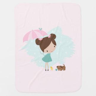 Couvertures Pour Bébé Couverture douce de bébé dans des couleurs roses