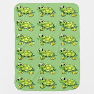 Couvertures Pour Bébé Couverture douce de bébé de tortue
