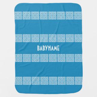 Couvertures Pour Bébé Couverture faite sur commande de bébé de motif