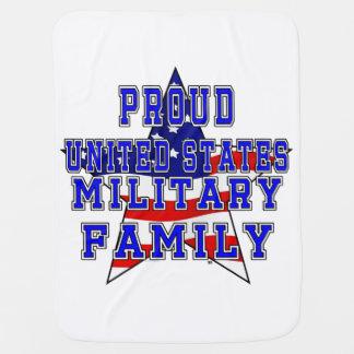 Couvertures Pour Bébé Couverture militaire fière de bébé de famille -