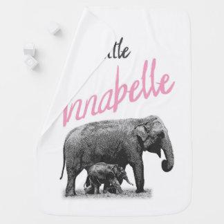 """Couvertures Pour Bébé Couverture personnalisée de bébé """"peu d'Annabelle"""