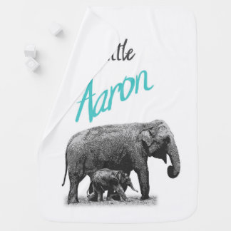 """Couvertures Pour Bébé Couverture personnalisée """"petit Aaron """" de bébé"""