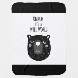 Couvertures Pour Bébé Couverture sauvage de bébé du monde