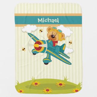 Couvertures Pour Bébé Couverture volante de bébé d'ours