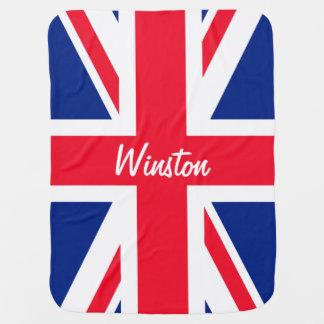 Couvertures Pour Bébé Drapeau britannique BRITANNIQUE d'Union Jack