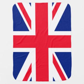 Couvertures Pour Bébé Drapeau patriotique britannique BRITANNIQUE
