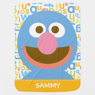 Couvertures Pour Bébé Grover Baby  ajoutent votre nom
