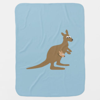 Couvertures Pour Bébé Kangourou et Joey mignons