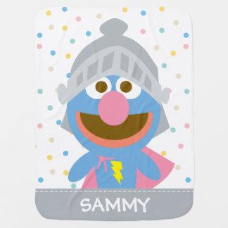 Couvertures Pour Bébé Le bébé Grover dans l'armure   ajoutent votre nom