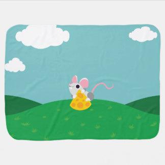 Couvertures Pour Bébé M. Cheeseman la souris