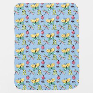 Couvertures Pour Bébé Madame de libellule de papillon Bug Blanket pour