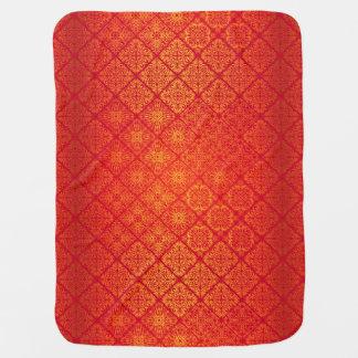 Couvertures Pour Bébé Motif antique royal de luxe floral