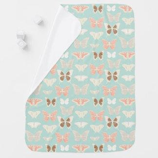 Couvertures Pour Bébé Motif de papillons doux