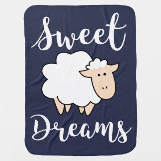 Couvertures Pour Bébé Moutons de bande dessinée de rêves doux
