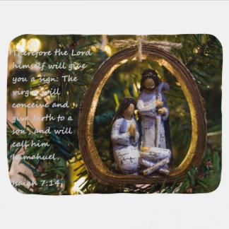 Couvertures Pour Bébé Ornement Isiah sept quatorze de nativité